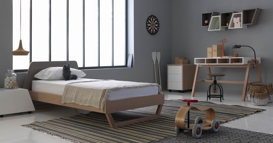 Galaxy bed - Dylan desk